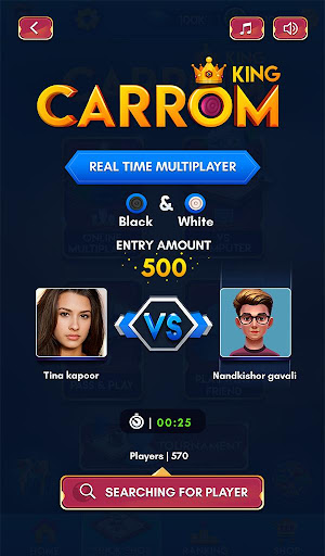 Carrom Kingu2122 - Best Online Carrom Board Pool Game 2.8.0.48 screenshots 24