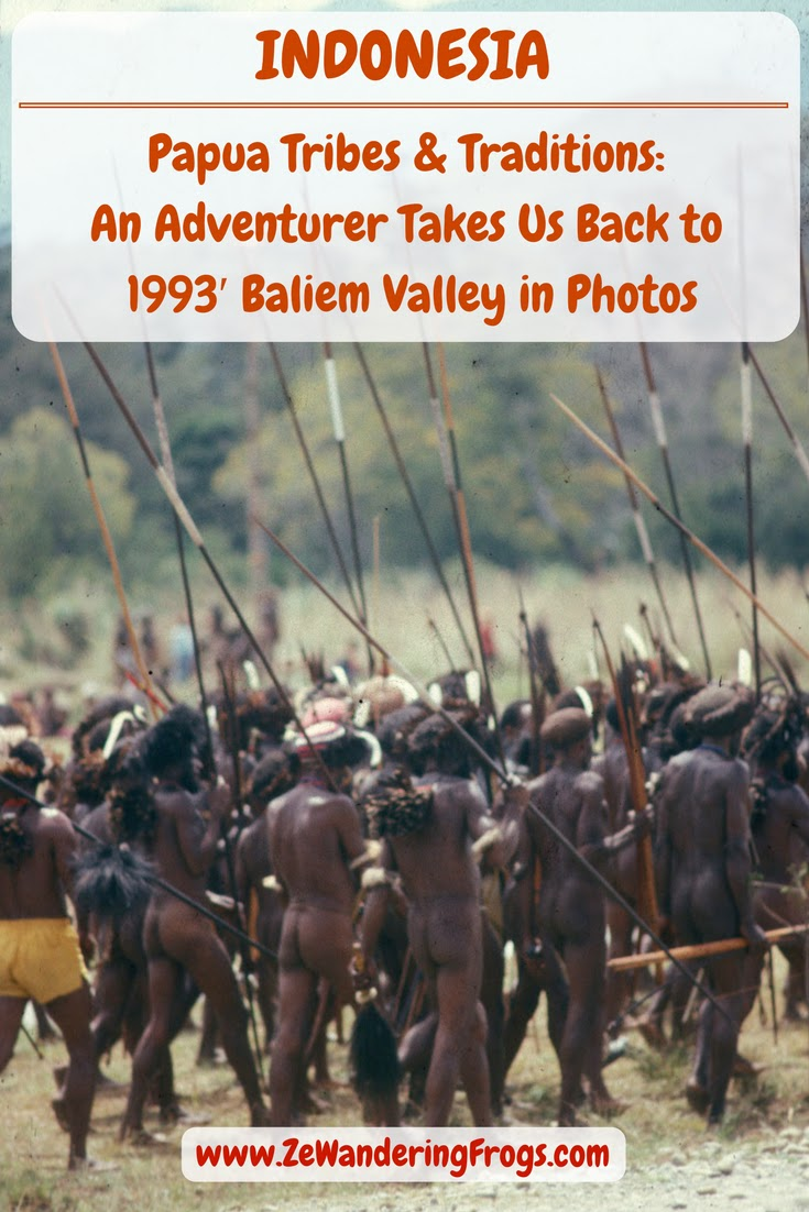 Papua Tribes Traditions Baliem Valley