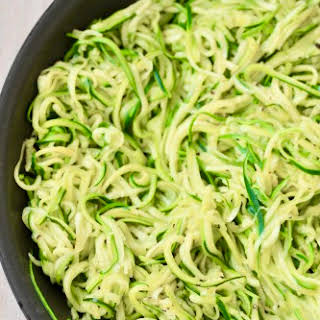 Zucchini Noodles without a Spiralizer.