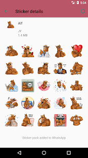 WASticker Collection Screenshot