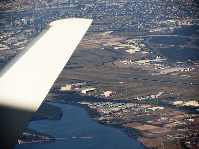 Photo: View of the Brisbane Airport