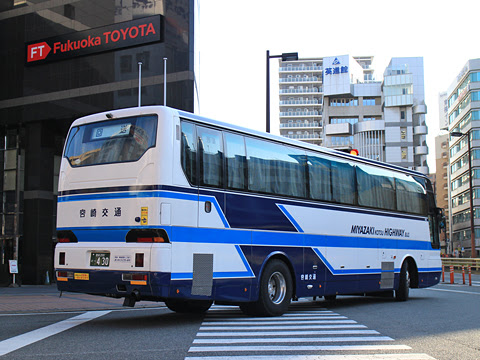 宮崎交通「福岡~延岡・宮崎 夜行線」 ・430 リア