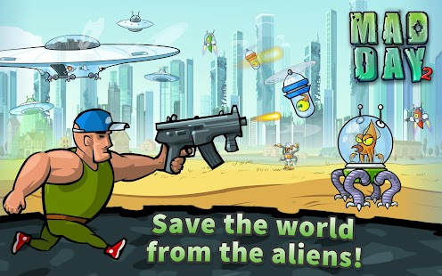 Mad Day 2: Shoot the Aliens Screenshot