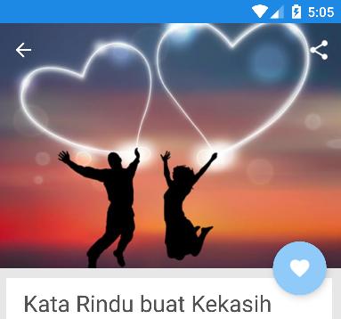 Download Kata Kata Rindu Romantis Spesial Apk Latest Version