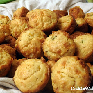 Mini Smoked Cheddar Cornbread Muffins Recipe