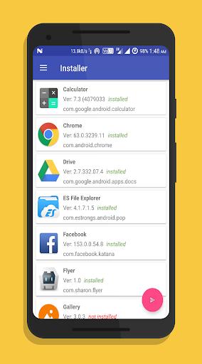 One Click Apk Installer & Backup:Quick App Install 5.3 screenshots 1
