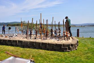Photo: salmon pit