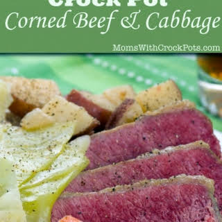 Crock Pot Corned Beef & Cabbage.
