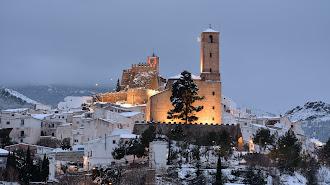 Serón tras una nevada. Imagen cedida por el Ayuntamiento de Serón.