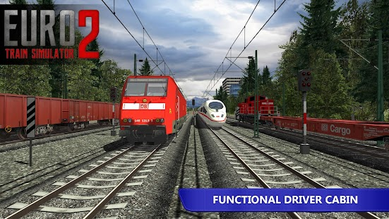 Euro Train Simulator 2 Mod Apk v1 0 8 3 [Unlocked Trains and