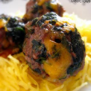 Spinach Cheddar Meatballs