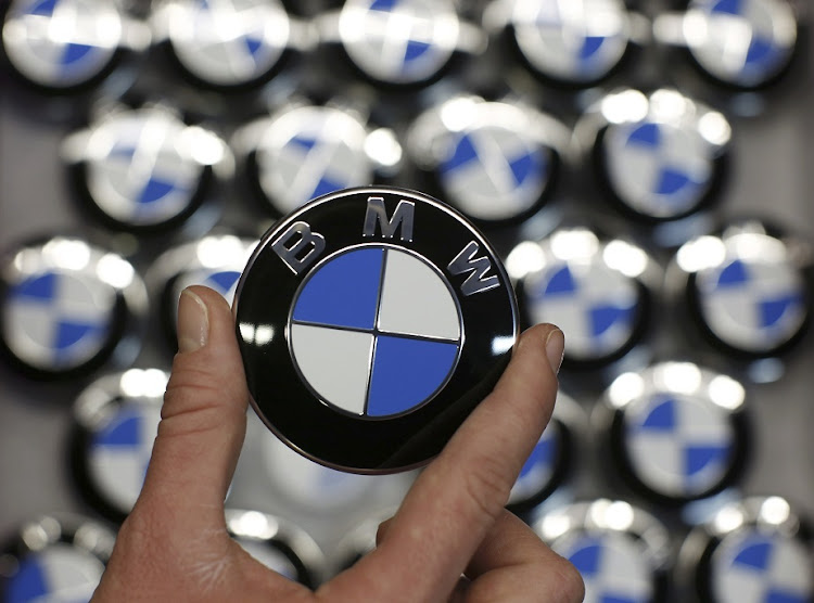BMW logo. File photo.