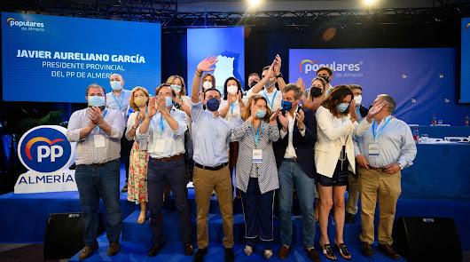 """El PP estrena líder: """"Somos los que mejor conocemos Almería"""""""