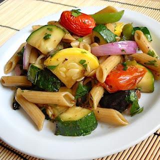 Grilled Vegetable Pasta Salad.