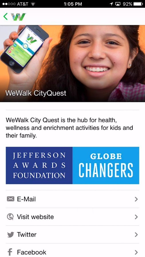WeWalk City Quest- screenshot