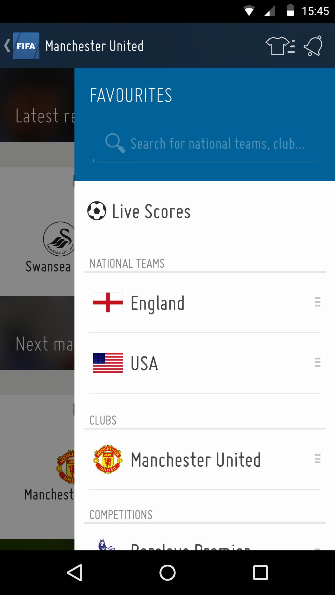 FIFA screenshot #2