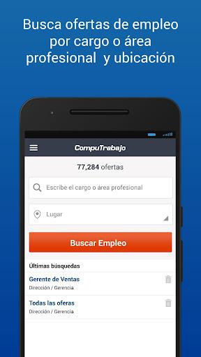 CompuTrabajo Ofertas de Empleo  screenshots 3