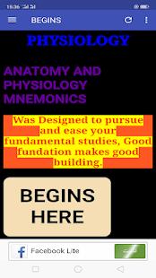 Anatomy & Physiology Mnemonics