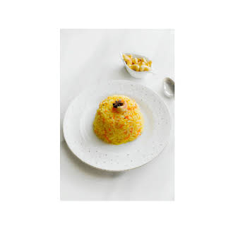 Instant-Pot Carrot Rice Pulao with Cashews – Glutenfree & Vegan #Easter.