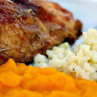 Herb Roasted Chicken & Tangy Cider Gravy.