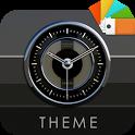 SAKATO Xperia Theme - silver white black icon