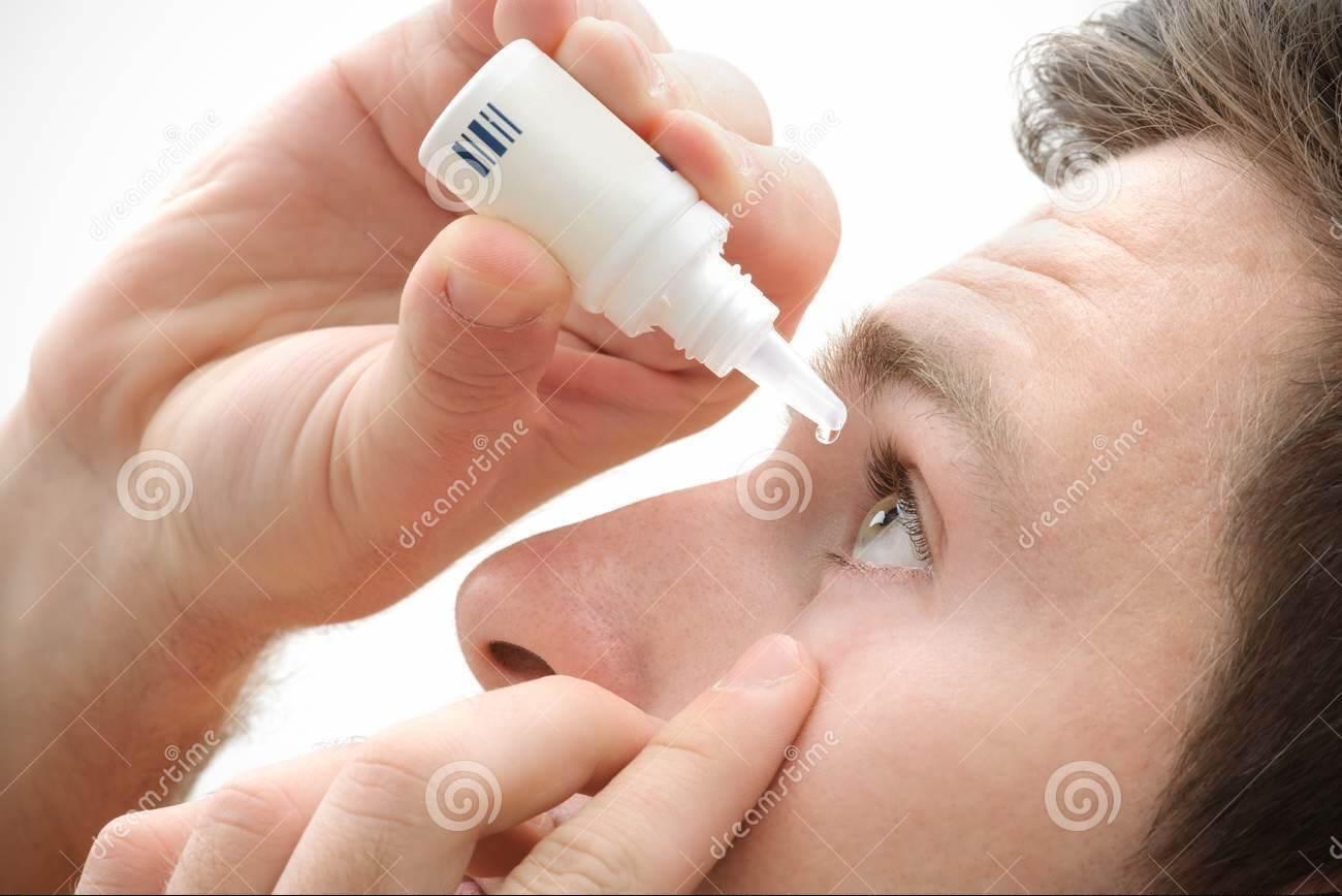 use eye drops