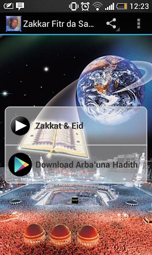Zakkar Fitr da Sallar Eid