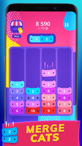 CATRIS - Merge Cat | Kitty Merging Game 1.10.1.0 screenshots 1