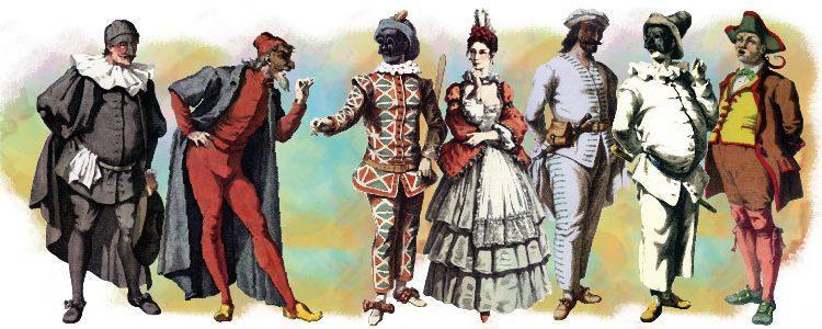 Le maschere della commedia dell'arte in scena ai Centri ...