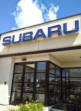 Photo: Evergreen Subaru in Auburn, ME proudly displaying their BBB Accreditation
