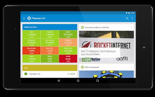 Finanzen100 Börse & Aktien - screenshot thumbnail