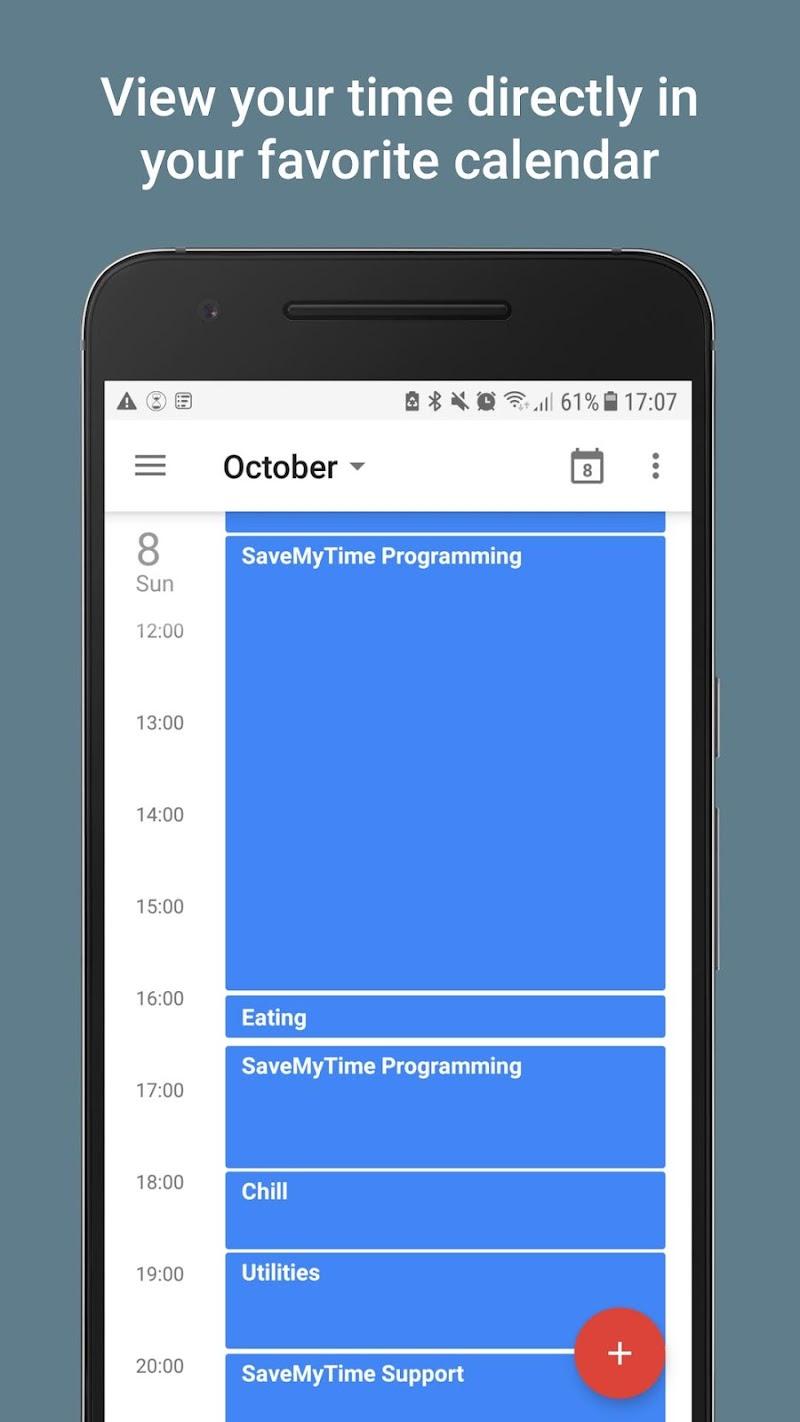 SaveMyTime - Time Tracker Screenshot 4