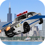 Flying Police Car Chase 2017