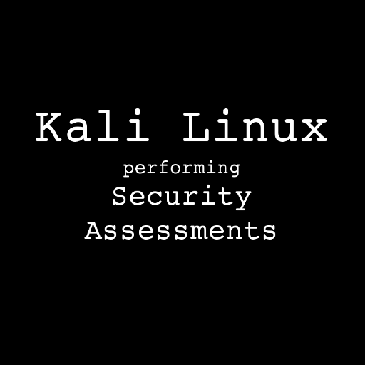 Kali Linux Security Assessments