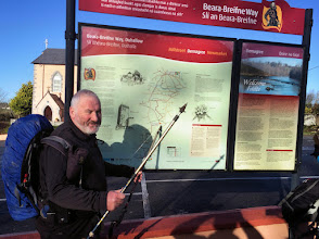 Photo: Walking the Beara Breifne Way on the weekend of January 17th and 18th, 2015.  6 of 9