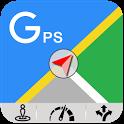 GPS Navigation Maps Offline GPS Location Tracker icon