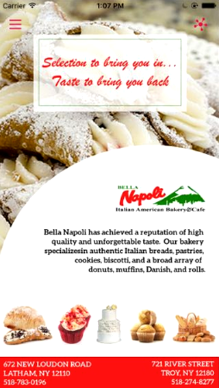 Bella Napoli Bakery- screenshot