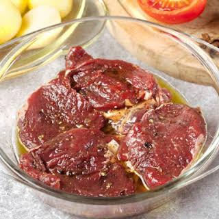 Apple Juice Steak Marinade.
