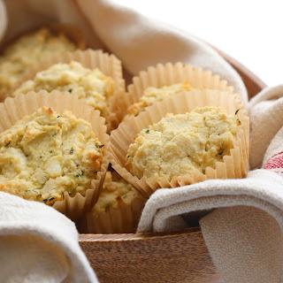 Savory Feta Zucchini Muffins