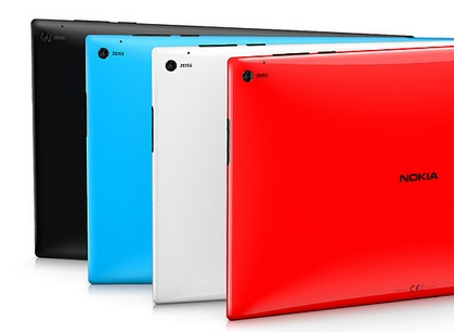 Nokia Lumia 2520 camera