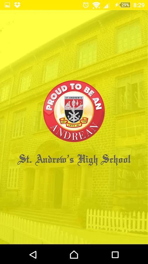 St Andrew's High School Bandra- screenshot