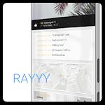 Rayyy for KLWP v4.0