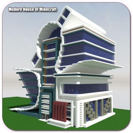 Modern House Of Minecraft