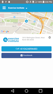 Exercise Institute- screenshot thumbnail