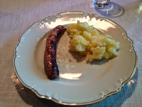 Photo: A simple German meal