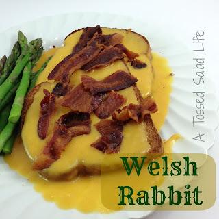 Welsh Rabbit {AKA Welsh Rarebit}.