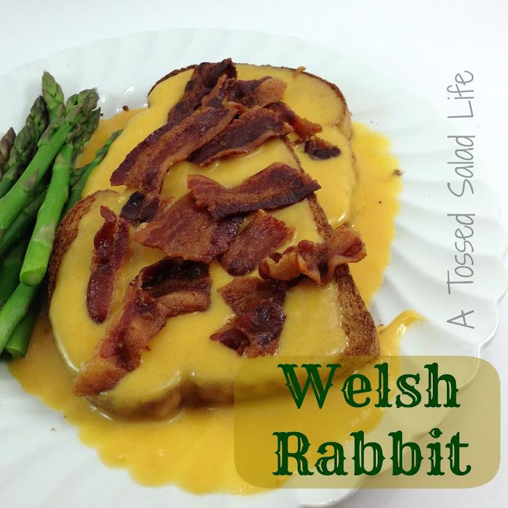 Welsh Rabbit {AKA Welsh Rarebit} Recipe