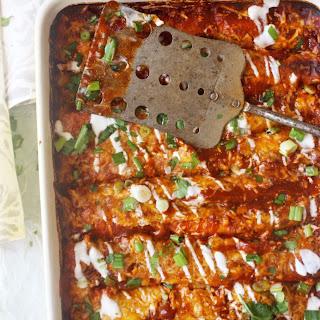 Skinny Vegetarian Enchiladas