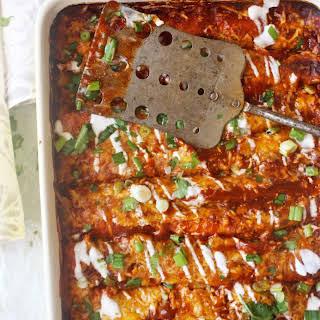 Skinny Vegetarian Enchiladas.