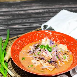 Thai Tomato Peanut Soup
